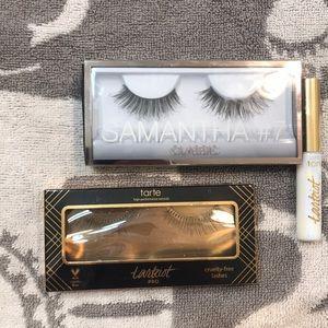 2 Sets false eyelashes Tarte/Huda beauty